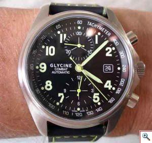 Arriva Combat 7 Chronograph: l'orologio dal design moderno e dall'anima sportiva firmato Glycine